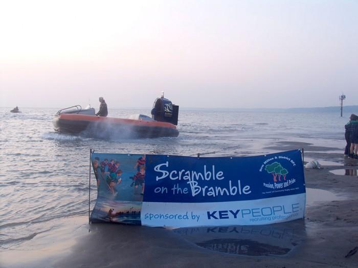 Hovercraft and Scramble on the Bramble, 2008