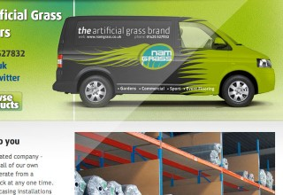 Namgrass Website Design