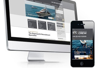 Super Yacht Crew Website
