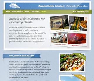 Startup website design
