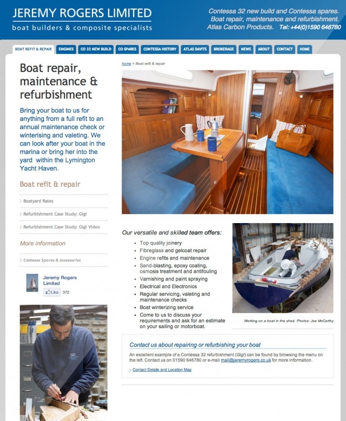 Jeremy Rogers Boat Repair and Maintenance