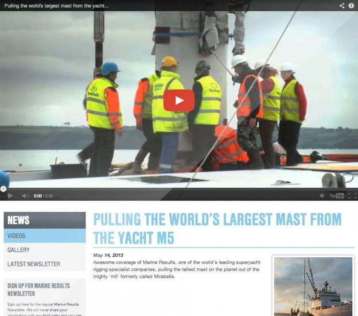 Marine Results Website Videos