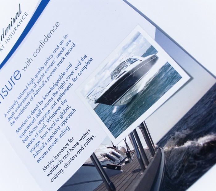 Insure with Confidence Leaflet Design