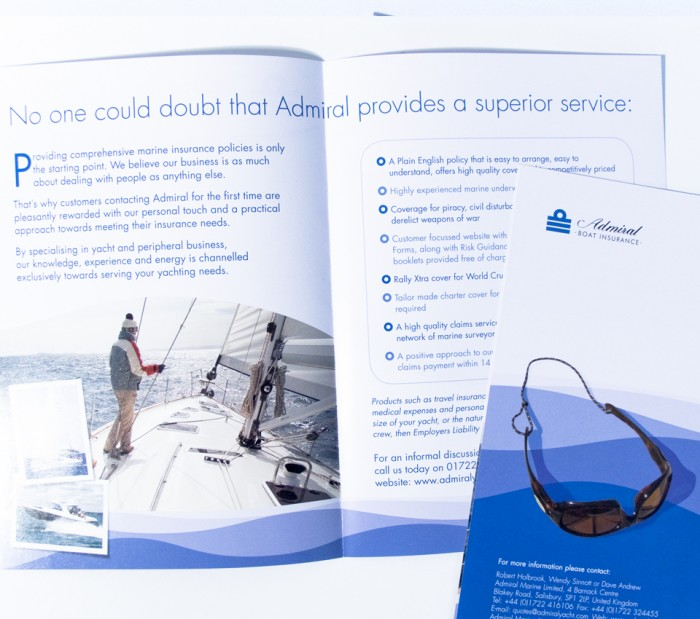 Insure with Confidence Leaflet Spread