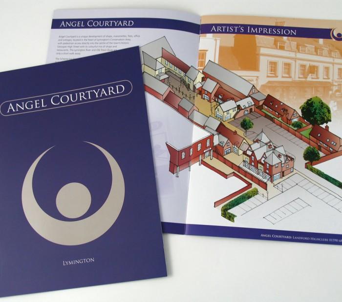 Angel Courtyard Brochure