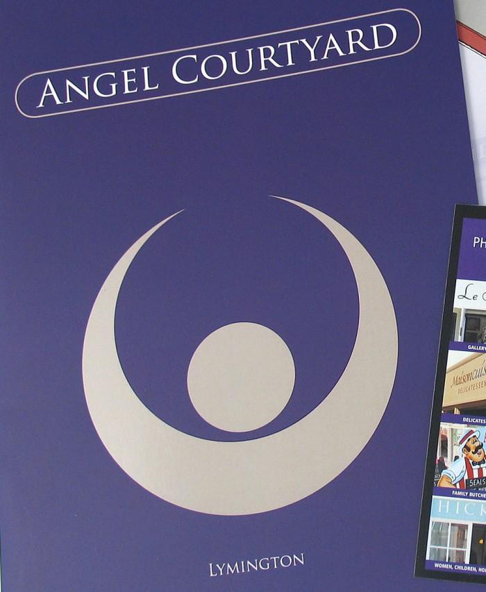 Angel Courtyard Logo Design