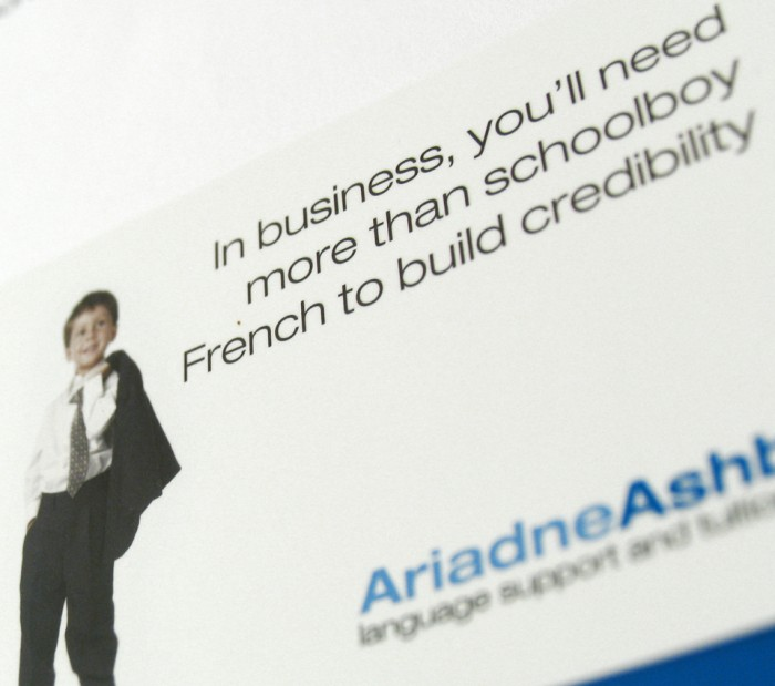 Ariadne Ashby Business Card Detail