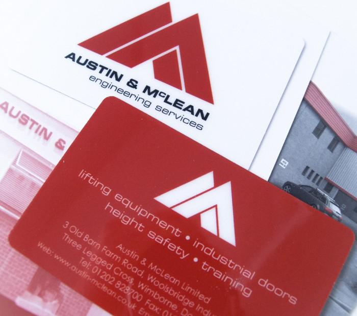 Austin McLean Change of Address Card