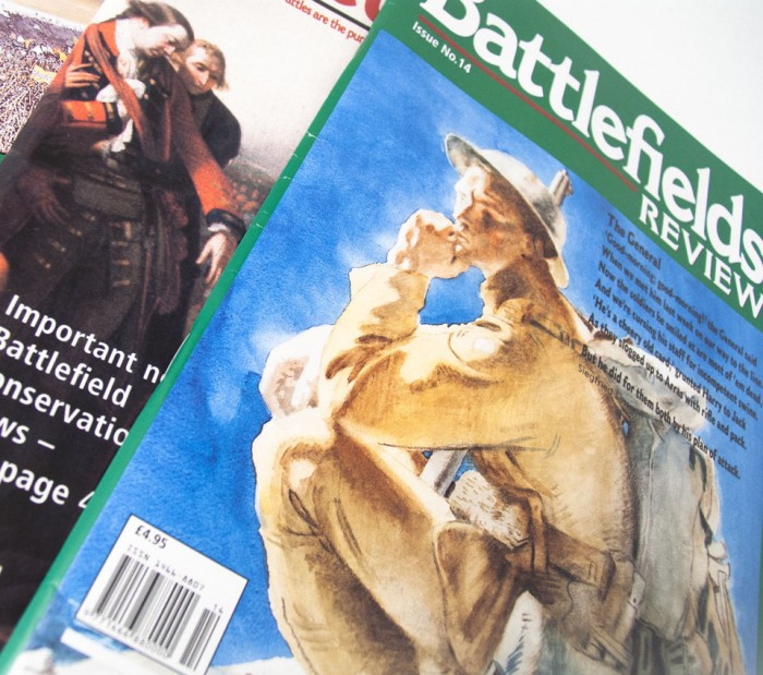 Battlefields Review Magazine Cover