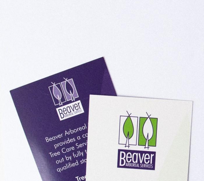 Beaver stationery