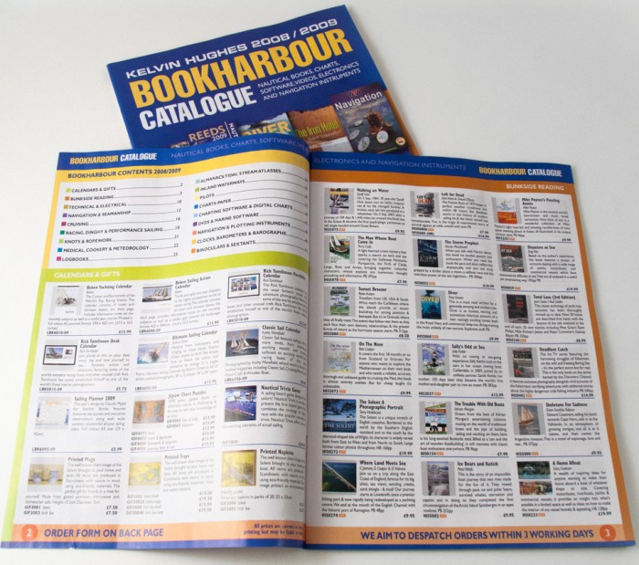 Bookharbour Catalogue Design