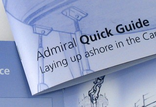 Brochure Design Admiral Yacht Insurance