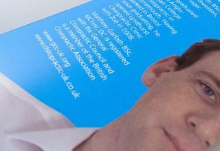 Lyndhurst Chiropractic Clinic Brochure Design