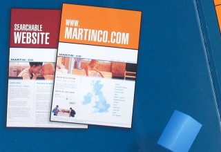 Brochure Design for Martin & Co