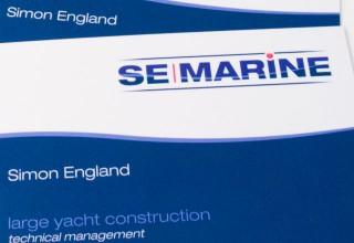 SE Marine Business Cards