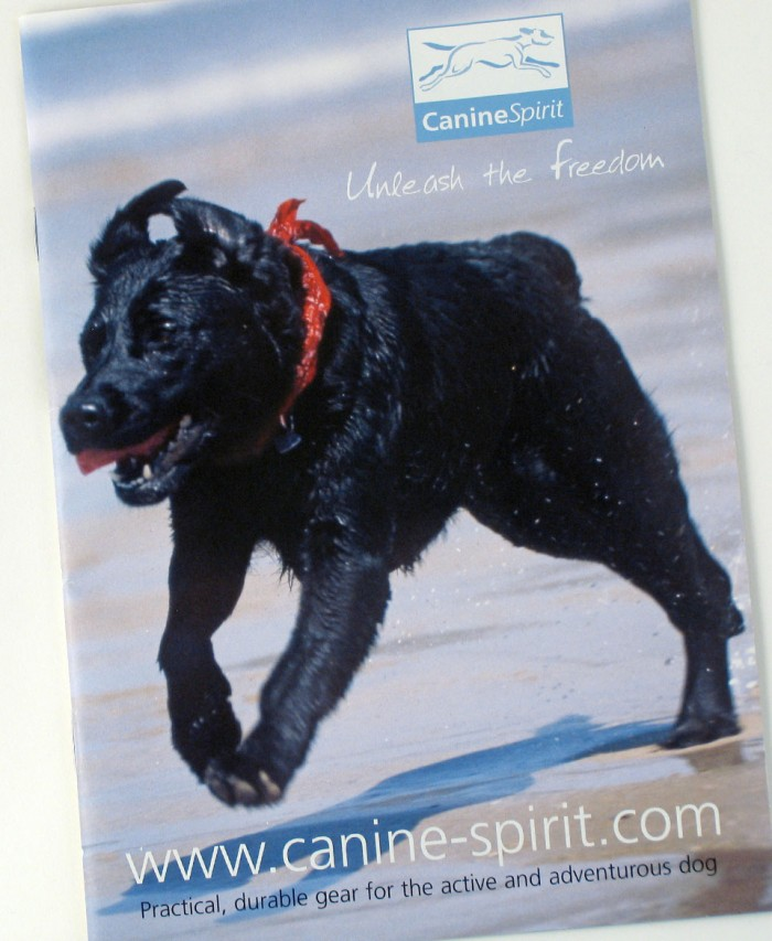 Canine Spirit Catalogue Cover