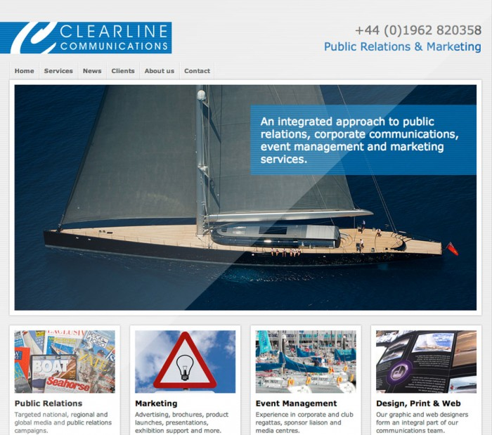 Clearline Communications Home Page