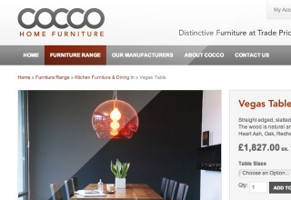 Web Design Cocco Furniture