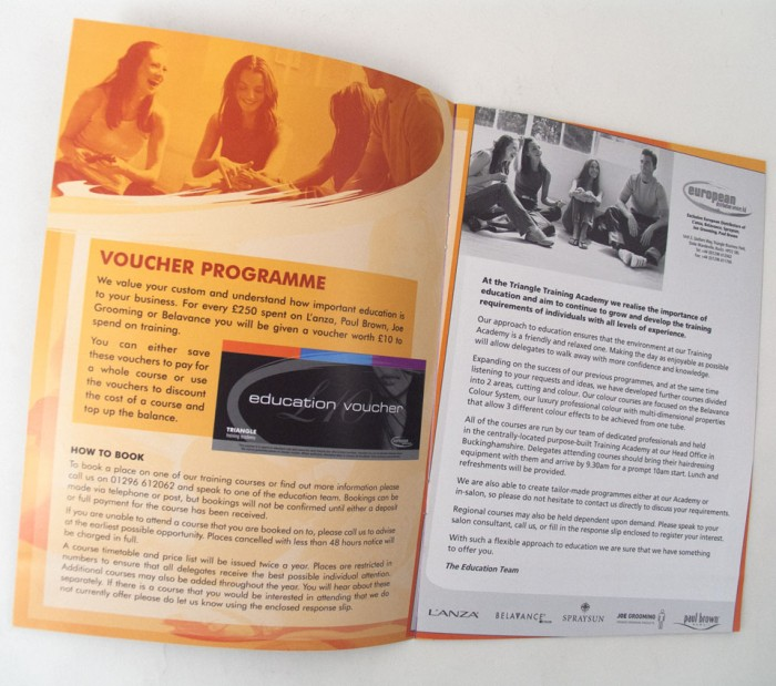 Brochure Spread for EDS