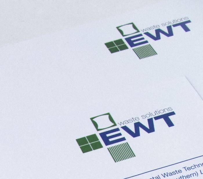 Logo Design, EWT stationery