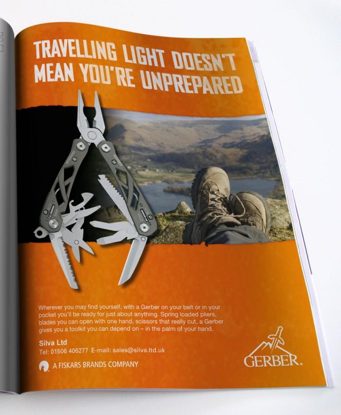 Gerber Advert Design Prepared