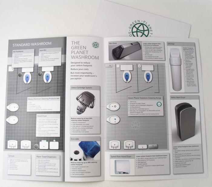Green Planet Catalogue Design