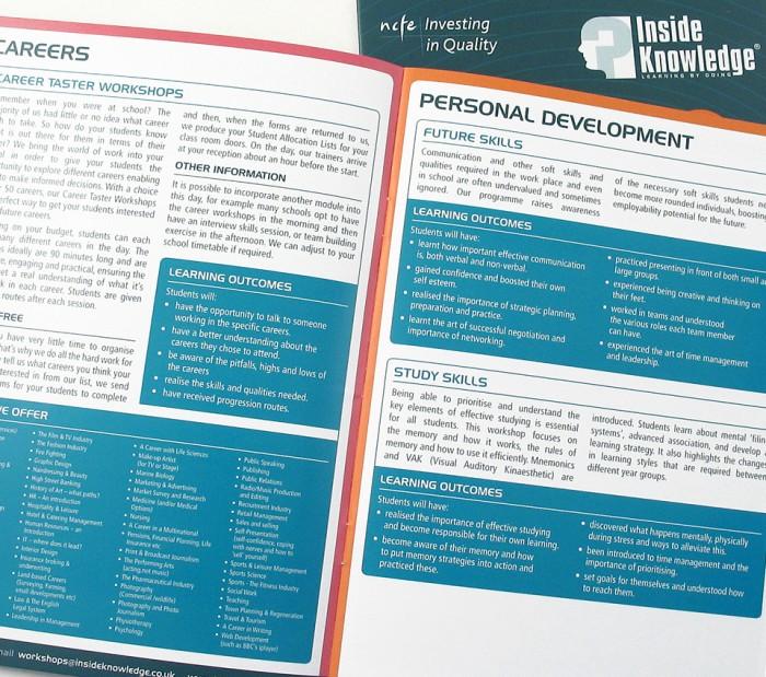 Inside Knowledge Brochure