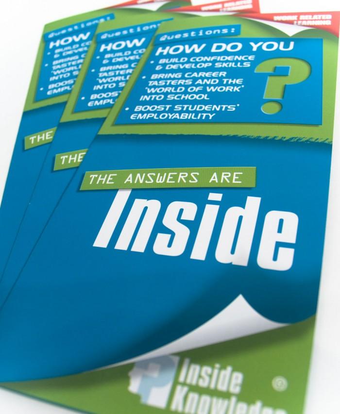 Inside Knowledge Leaflet Cover