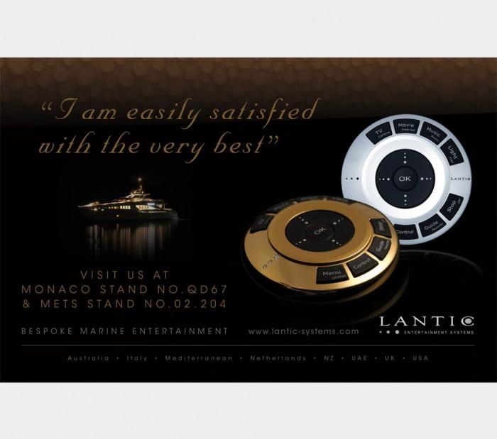 Lantic Advert Design