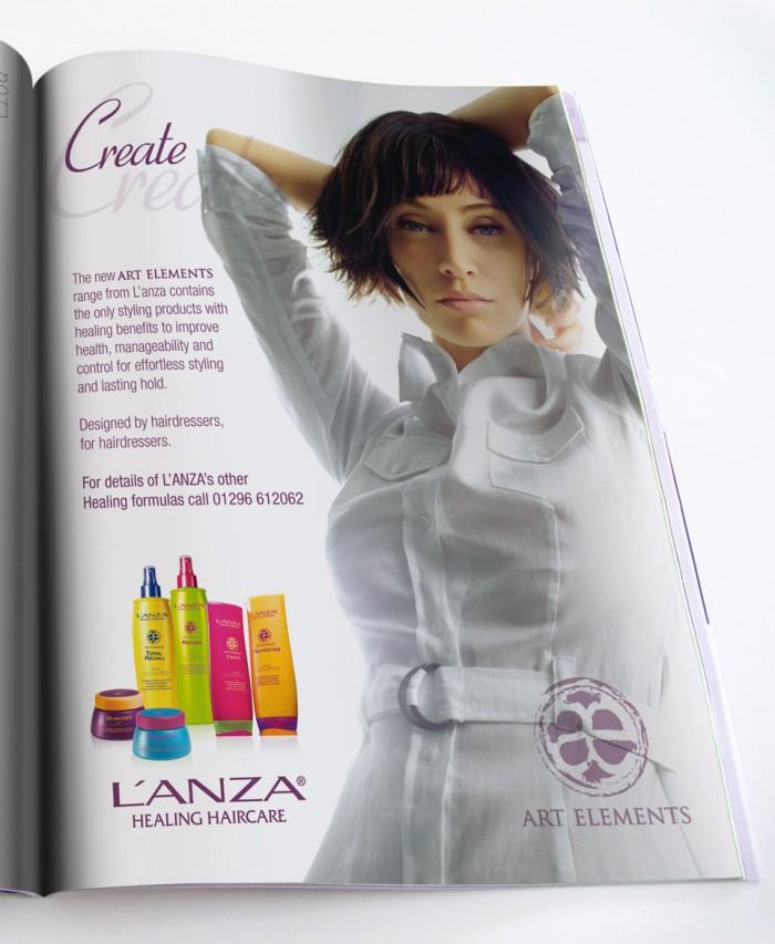 L'ANZA Europe Advert Design