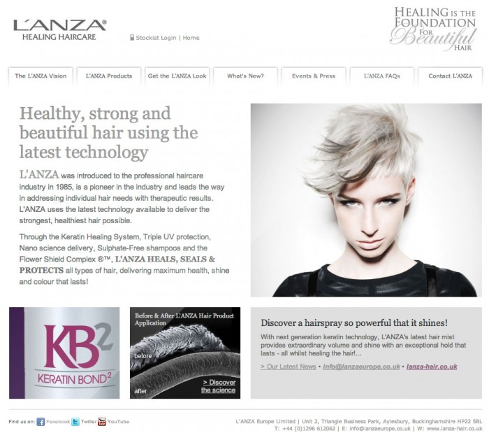 Lanza Home Page