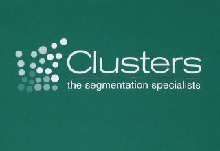 Clusters Segmentation Logo Design