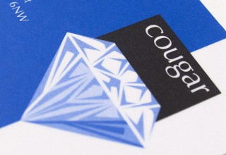Logo Design for Cougar Diamonds