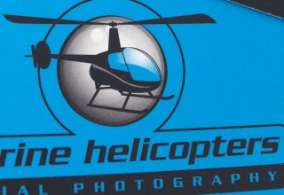 Logo Design for Marine Helicopters