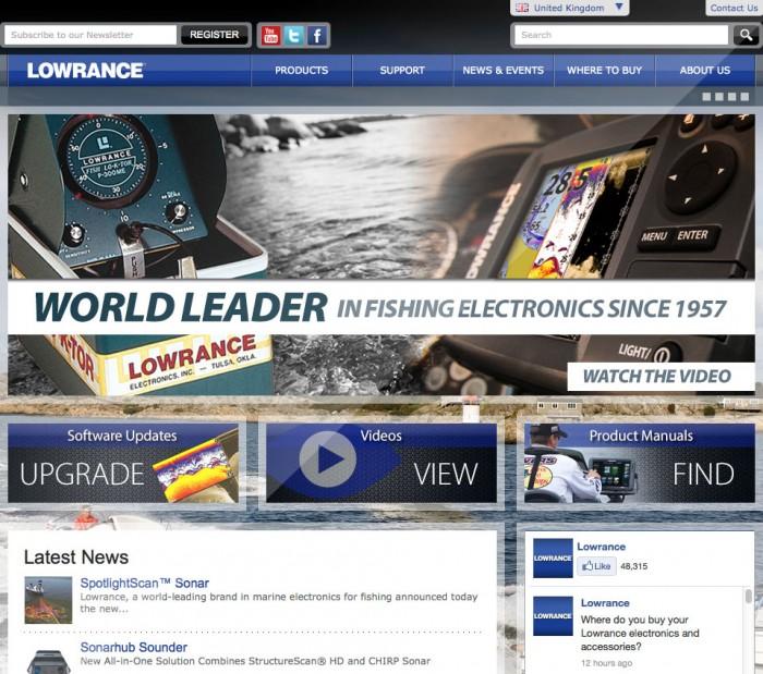 Lowrance Home Page