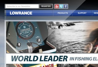 Lowrance Website Design
