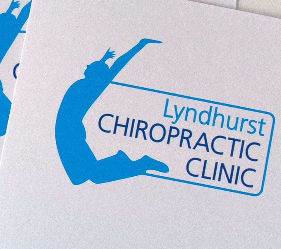 Lyndhurst Chiropractic Clinic Logo Design - by Tinstar Design