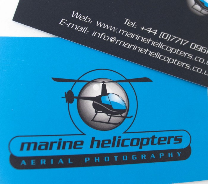 Business Cards for Marine Helicopters