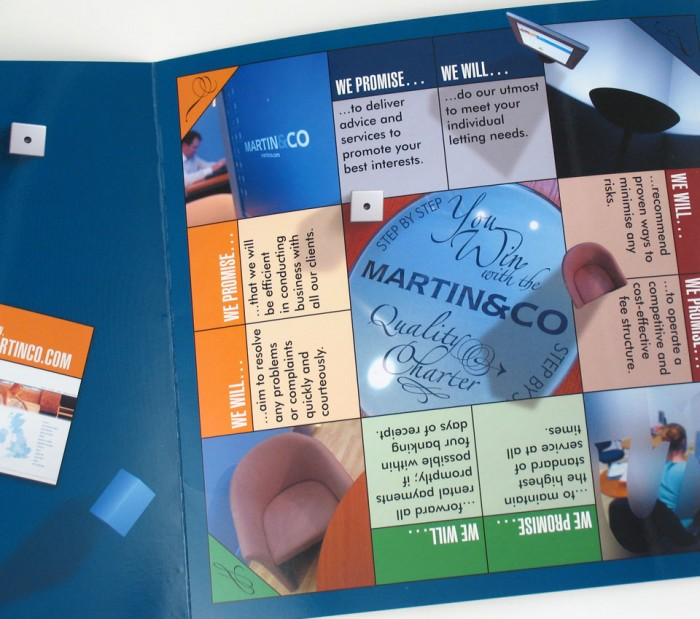 Martin & Co Brochure Design