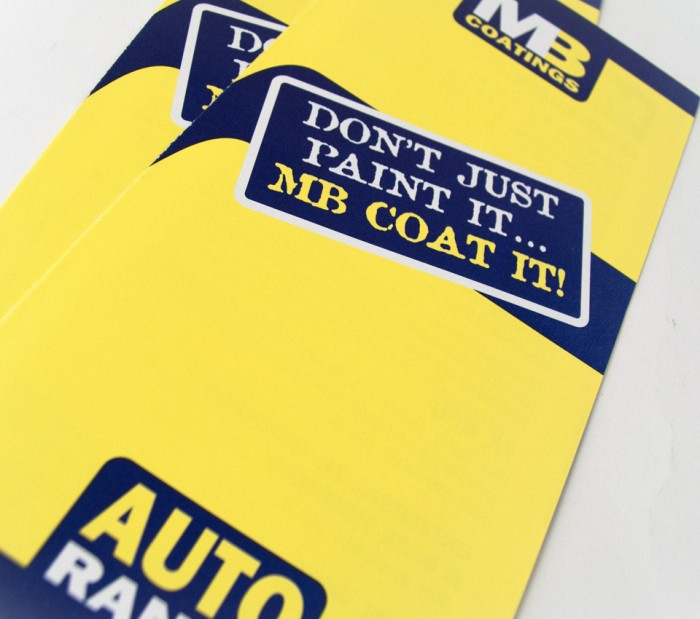 MB Coatings Leaflet Cover