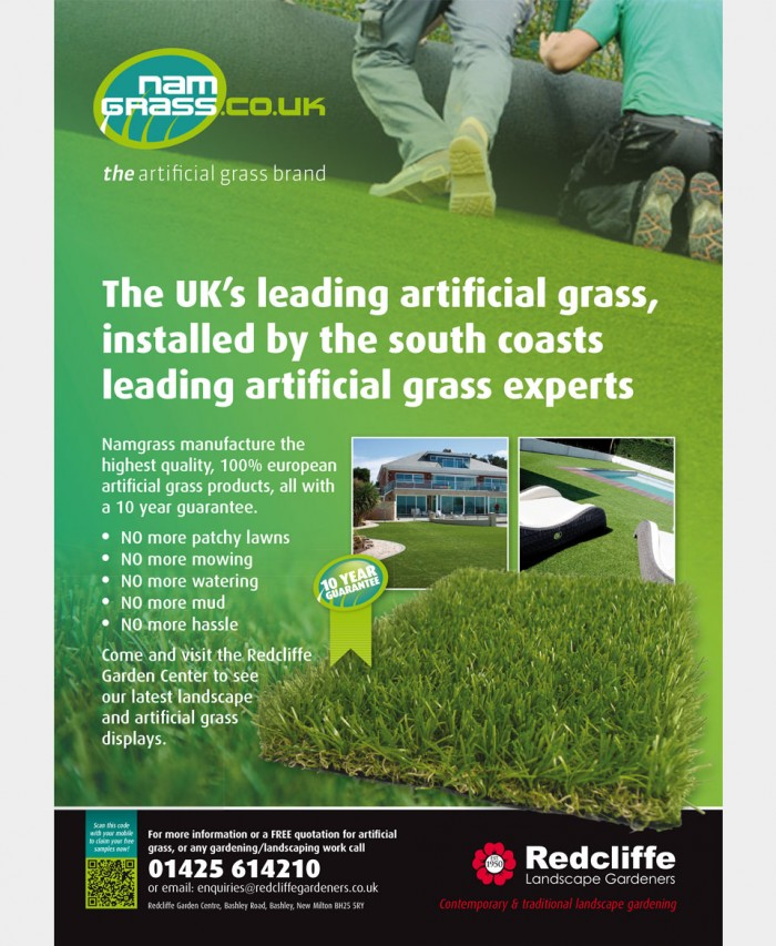 Namgrass Advert Design