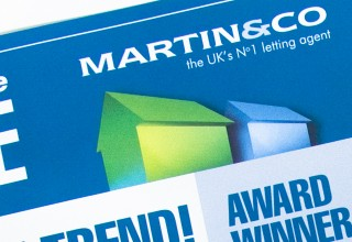 Newsletter Design for Martin & Co