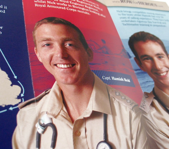 Row for Heroes Leaflet Detail