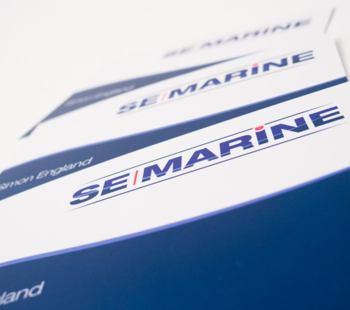 SE Marine Business Cards