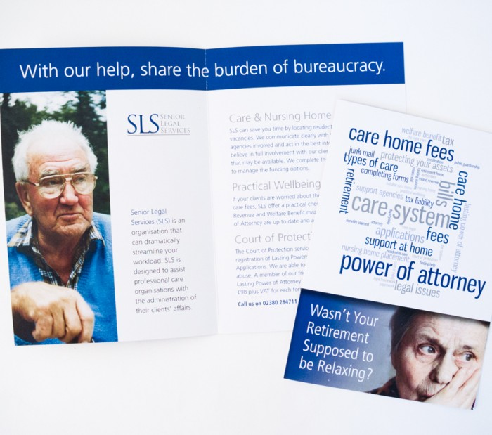 Senior Legal Services Leaflet