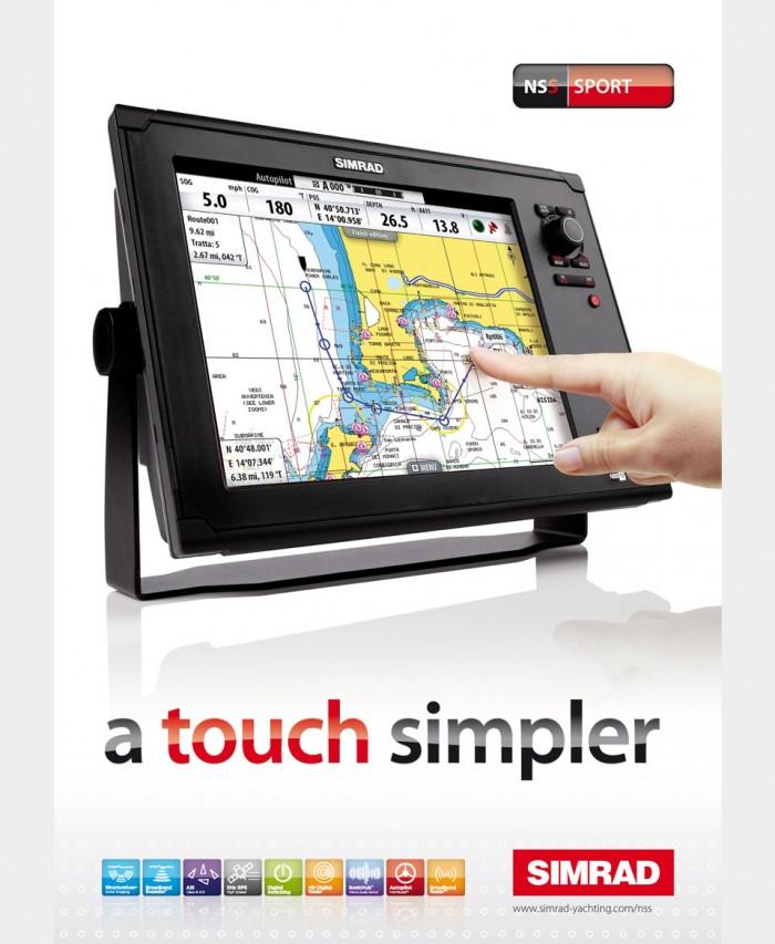 Advert Design for Simrad