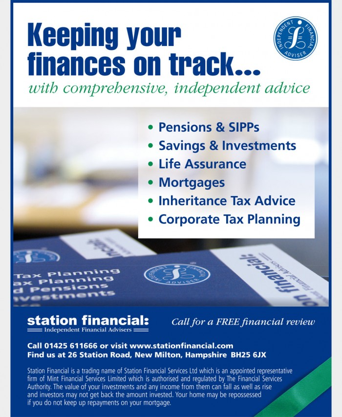 Station Financial Advert