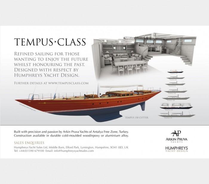 Tempus Class Advert Design