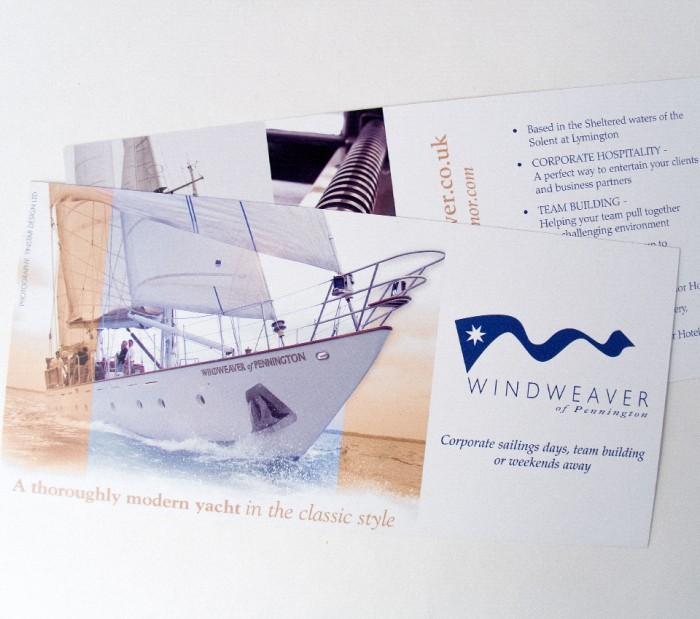 Windweaver Leaflet Design