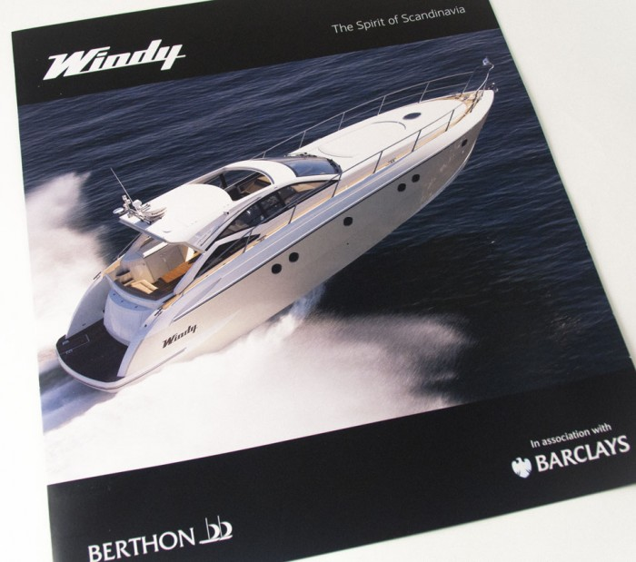 Windy Boat Show Brochure Cover